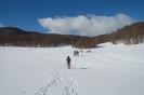 Macchiarvana ciaspolata sulla neve
