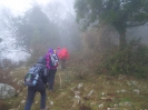 trekking: escursione sul Monte Trina 10-03-2019